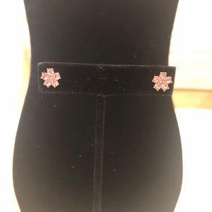 NWT Kate Spade Blush Flower Stud earrings